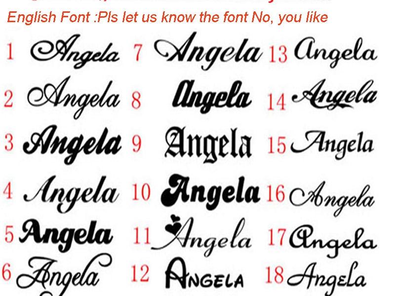 english font 7.18