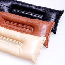 Universal Car Seat Gap Filler, PU Leather Auto Seats, Soft Padding Spacer Holster Black Beige Brown 2 pcs/lot