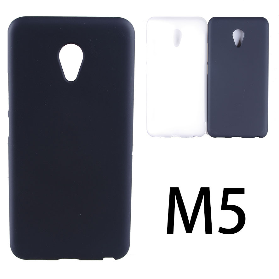 UVR For Meizu M5 Case Dual SIM Mobile Phone Bag Matte TPU Case Cover For Meizu M5 Shell Coque For Meilan M5 Shelling