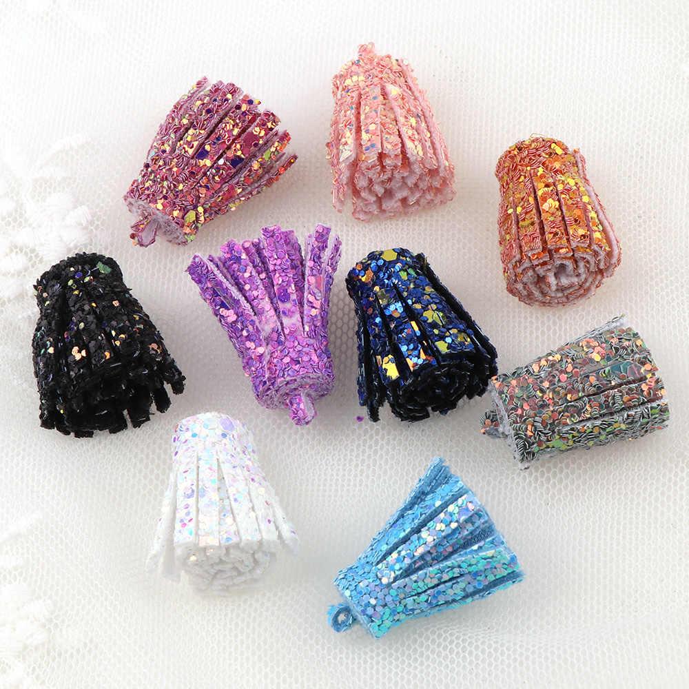 Mix Цвет кисточкой может занять от 10 до 30 шт./компл. цветочным принтом в стиле «сделай сам Шелковый полиэстровый галстук медальон подвеска, серьги с кисточками модные женские туфли ювелирные изделия Аксессуары для сумок