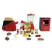 Elektrische Geschirr Kinder Küche Spielzeug Kunststoff Pretend Play Mixer/Toaster  Kochen Küche Spielzeug Für Mädchen