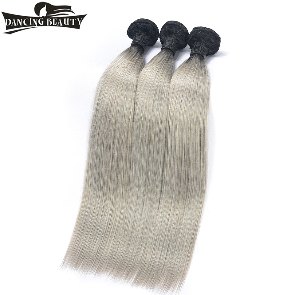 DANCING BEAUTY Pre Colored Straight Human Hair Extensions