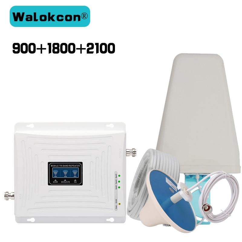 2G 3G 4G GSM 900 WCDMA 2100 LTE 1800 Telefon mobil cu bandă Repeater - Accesorii și piese pentru telefoane mobile
