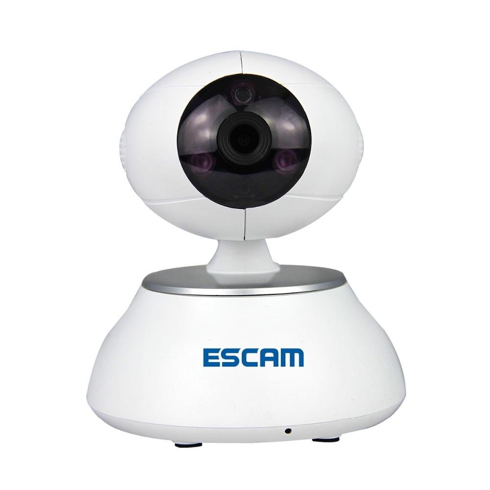 Escam indoor PTZ IP camera QF550 720P P2P Home security camera IR night vision H.264 Onvif mini wireless wifi camera