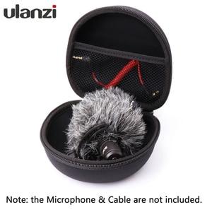 Image 2 - Ulanzi AriMic מיקרופון נייד מגן תיבת מגן קשיח מקרה פאוץ אחסון תיק עבור Arimic Rode Videomicro מיקרופון