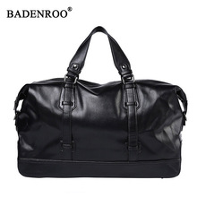 Men pu leather Travel Bags men bag high quality Capacity Cylinder package Multifunction Crossbody bag Male Handbag Large Big Bag high quality large capacity men pu leather computer business handbag casual vintage shoulder crossbody bag for travel work