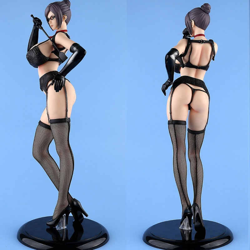 44CM Sexy B-style Action Figure Meiko Shiraki Stockings Comic Anime Shalleen Prison School Can Cast Off PVC Model Adult Doll