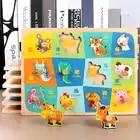 30 CM Holz Spielzeug Puzzle Pädagogisches Baby Kinder Ausbildung Spielzeug Für Kind Obst Gemüse Kuchen Puzzles Spielzeug Jigsaw - 4