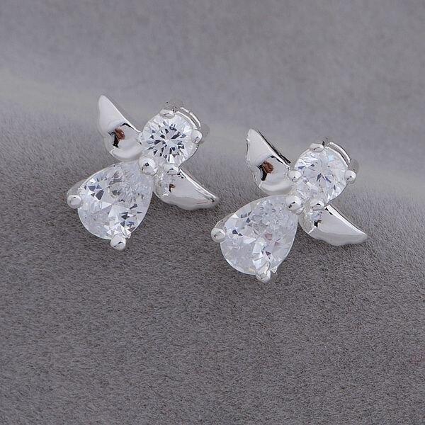 AE653 Hot 925 Sterling Silver Earrings , 925 Silver Fashion Jewelry , Angel /cthalkoa Bdjajuqa