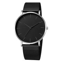 e751b0204eae De moda de acero inoxidable hombres Deporte Militar fecha analógico de  cuarzo Reloj de pulsera Relojes 2019 Reloj Hombre Reloj d.