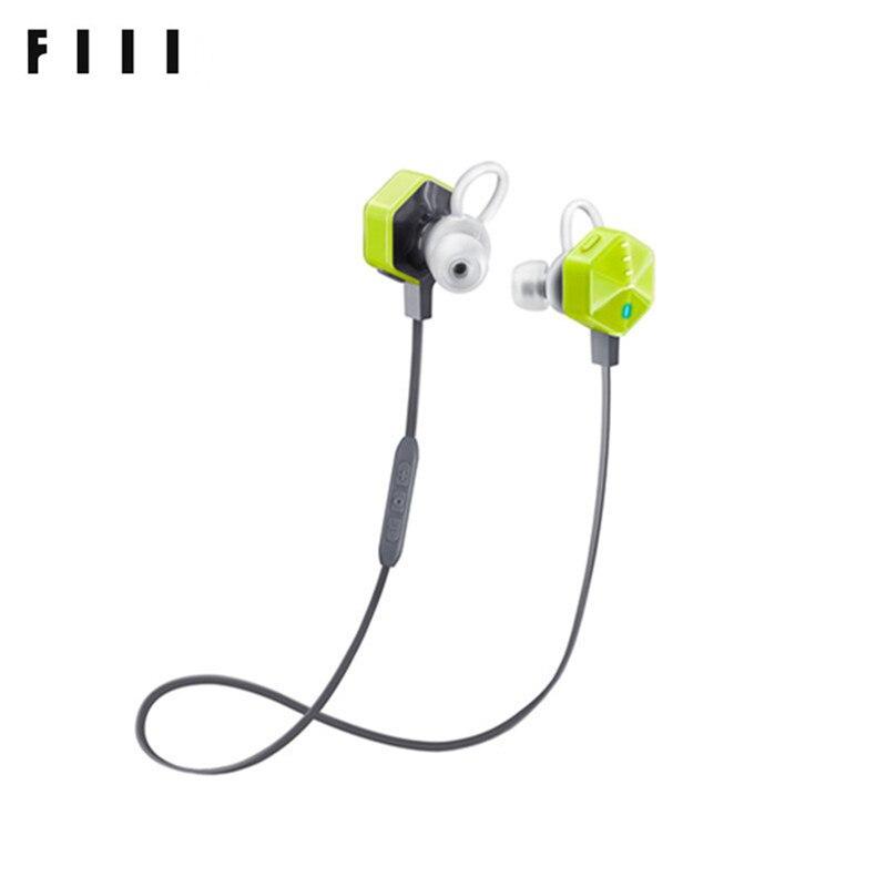 FIIL Carat In-Ear Bluetooth Earphone Sports Voice Control Earbuds Mic Waterproof Noise Cancelling Bluetooth Earphone