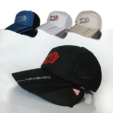 504a3b91c9557 Hot 2018 Men Adjustable Fishing Daiwa Japanese Sunshade Sport Baseball  Fishermen Hat Cap Black Special Bucket