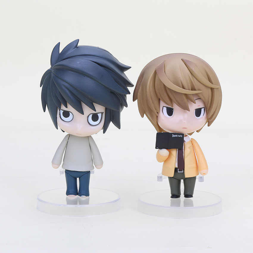 "4 ""Nendoroid Death Note Yagami Luz Nendoroid L Lawliet Assassino Anime Ação PVC Figura Colletion Modelo Toy Kid Presente #17 #12"
