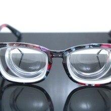Новые очки Monturas De Gafas, оправа для очков с большой оправой, цветок, высокая близорукость, миодисковые очки-16d Pd64
