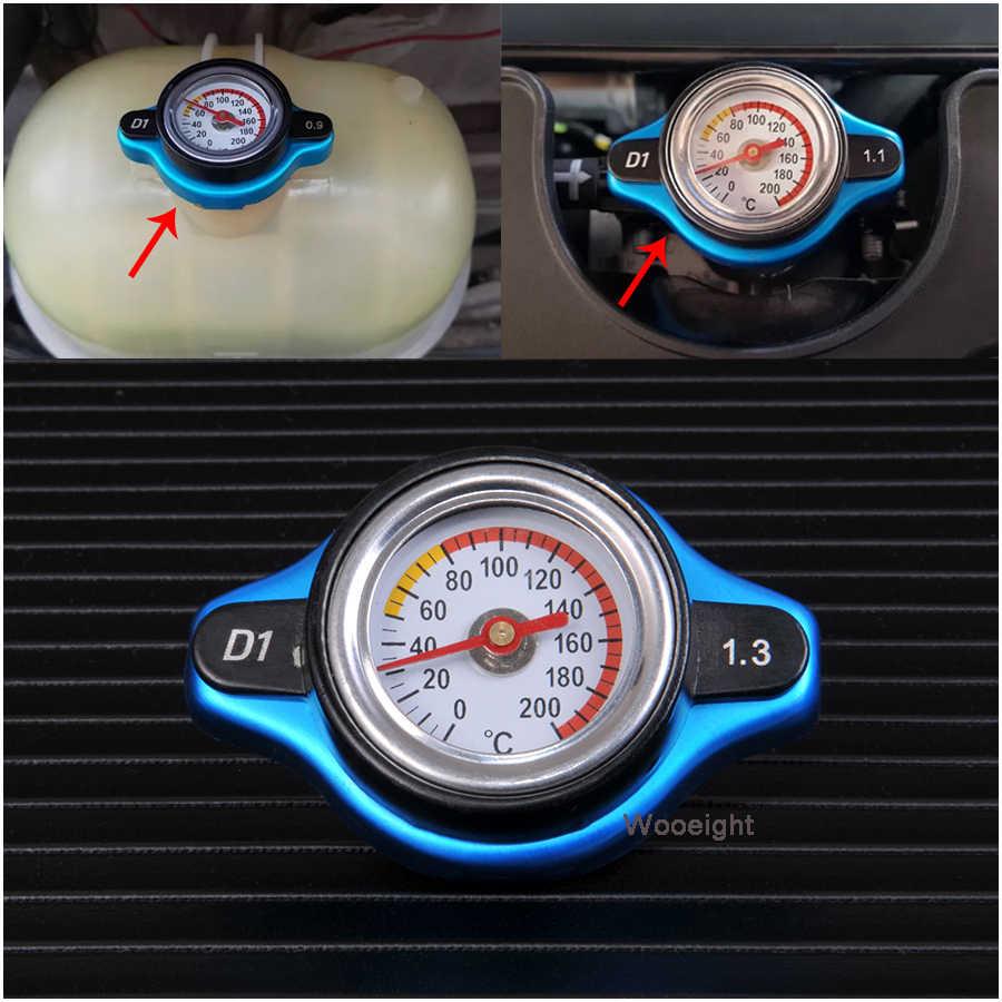 1.1Bar 1.3Bar Coperchio Blu 1.3Bar Nrew Coperchio del Tappo del radiatore del termostato con indicatore della Temperatura dellAcqua 0.9Bar