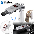 NEW A2DP Bluetooth Car Kit FM Transmitter Wireless FM Modulator HandsFree MP3 Audio Player Support USB TF AUX for iPhone Samsung