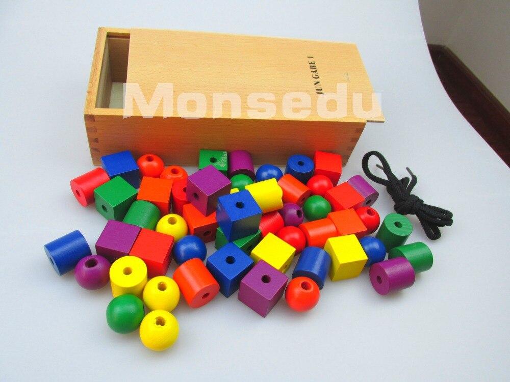 F roebelของเล่นเด็ก15ชิ้น/เซ็ตเกบของเล่นไม้จัดส่งฟรีการเรียนการสอนของเล่นการศึกษาในช่วงต้นของการพัฒนาของขวัญเด็ก-ใน บล็อก จาก ของเล่นและงานอดิเรก บน   3