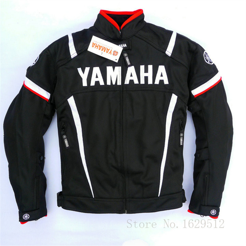 Summer Mesh Breathable Motorcycle Racing Jacket For YAMAHA Professional Super MotoGP Jacket Moto Chaqueta with Protectors