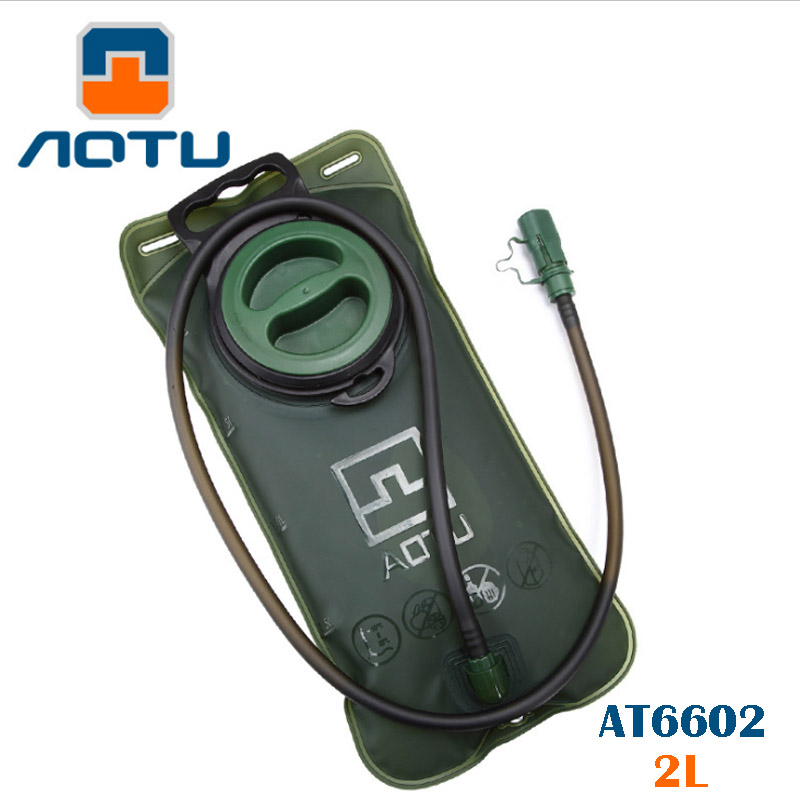 Aotu AT6602 2L Water Bag and Tube No Leaking Suction Big Filling Nozzle Easily-use for Cycling Hiking