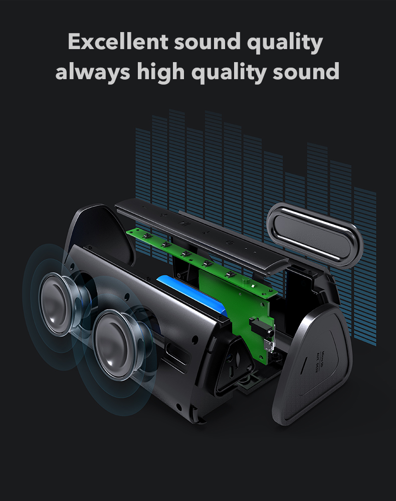 Bluetooth 10W Wireless Loudspeaker