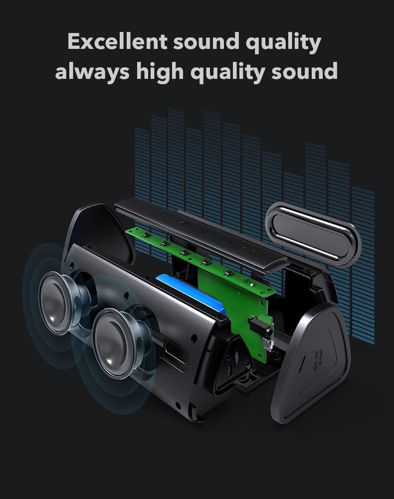 Bluetooth Portable Wireless 10W Loudspeaker Sound System 17