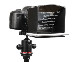 Image 2 - Bestview smartphone teleprompter para canon nikon sony camera photo studio dslr para youtube entrevista teleprompter câmera de vídeo
