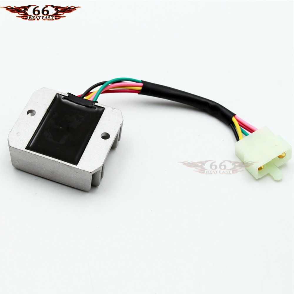 medium resolution of  voltage regulator 5 wire for honda cg 125cc 150cc 200cc 250cc atv dirt bike go kart