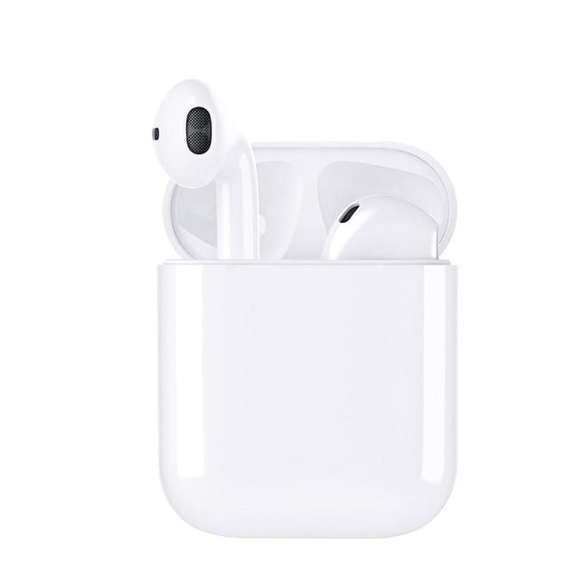 Abdo ミニ TWS イヤフォン Bluetooth 5.0 スポーツワイヤレス充電とボックス i12