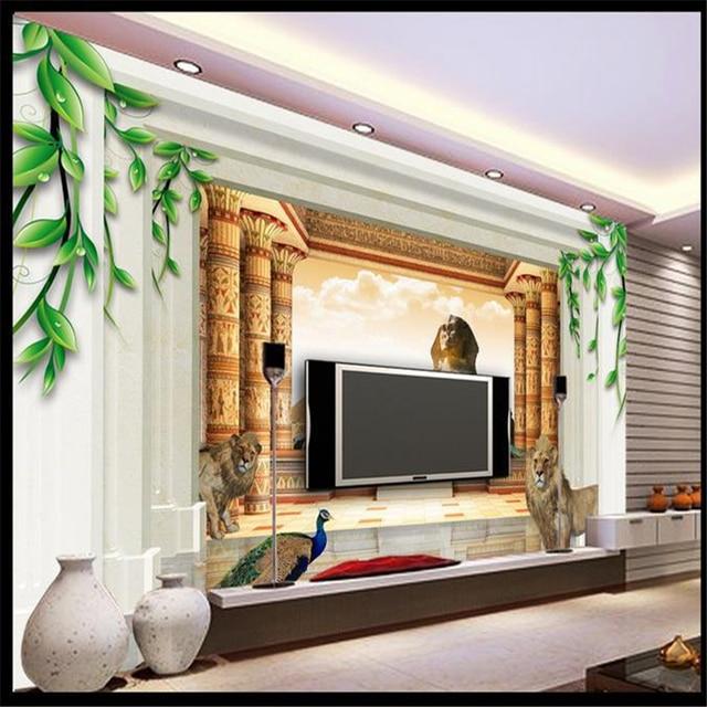 Beibehang 3d Marble Pillar Brick Murals TV Backdrop Wallpaper Living Room  Bedroom Murals Wall Paper For Part 96