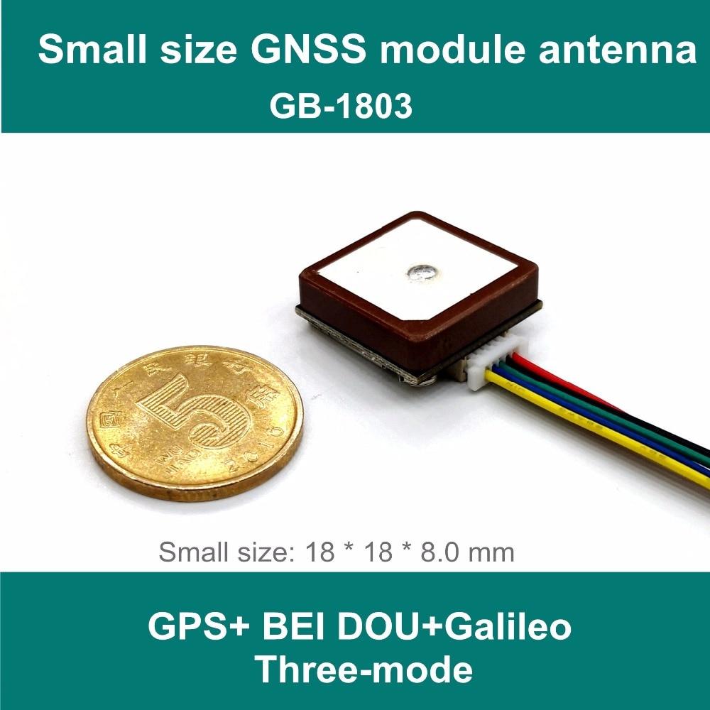 Nuevo módulo GNSS GPS Edison BEI DOU de tamaño pequeño antena, solución de chip neo-m8n, diseño integrado de Módulo de antena UART TTL nivel