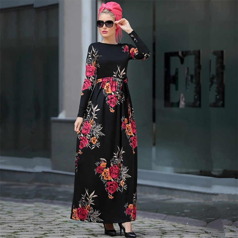 이슬람교 Hijab 복장 Abaya 가운 Caftan Marocain Kaftan 두바이 카타르 이슬람교 라마단 Tesettur Elbise 터키 이슬람교 복장