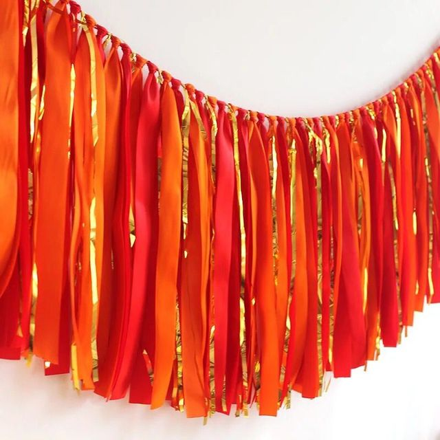 Hot Wedding Party Garland New Year Gold Red Banner Bridal Shower Baby Shower  100 Days Party
