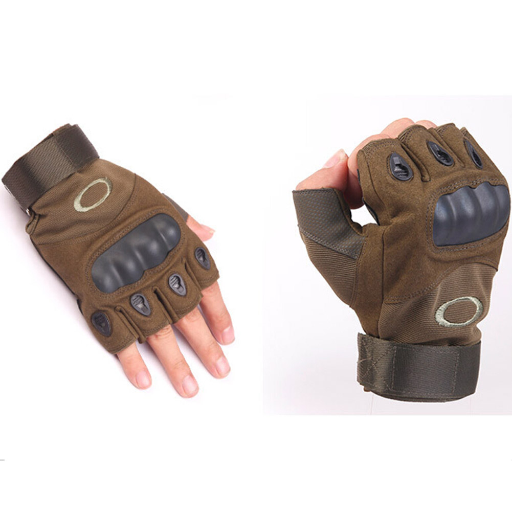 Fingerless gloves climbing - Mens Fingerless Soft Army Green Camouflage Tactical Gloves M Xl Half Finger Workout Anti Slip Climbing Moto Driving Glove In Gloves Mittens From Men S