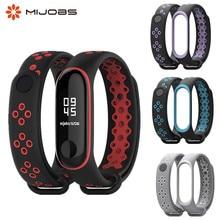 Mi Band 3 4 strap sport Silicone watch wrist Bracelet miband 3 strap accessories Mi band3 bracelet smart for Xiaomi mi band 3 4