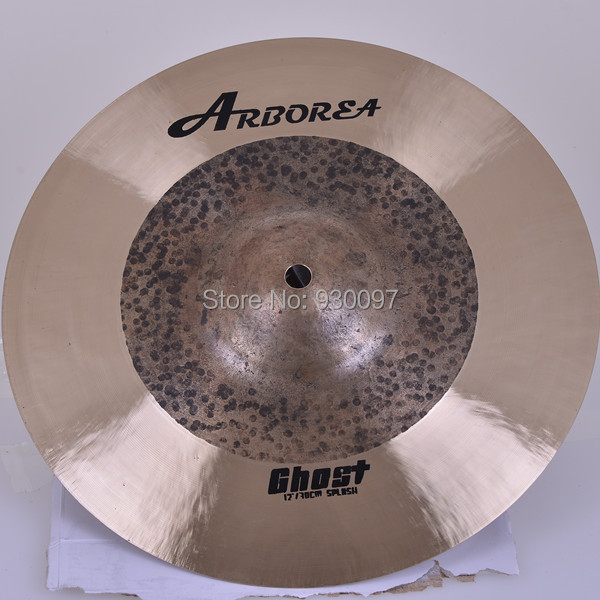 100% handmade Ghost 12Splash CYMBAL,Arborea Row drum cymbal arborea ghost cymbal set on sale
