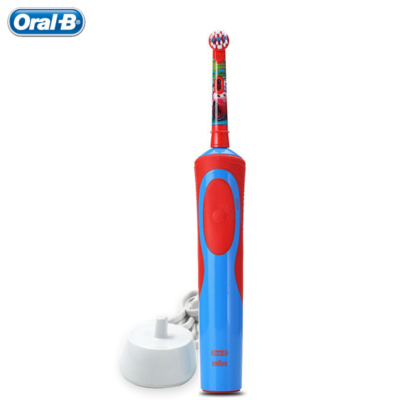 Children Teeth brush Oral B D12513K kids Electric Toothbrushes Waterproof Safety Rechargeable Oral care 1 handle 1 head Ages 3+ 1 kit dental orthodontic oral care interdental brush toothpick between teeth brush 3pcs kit570041