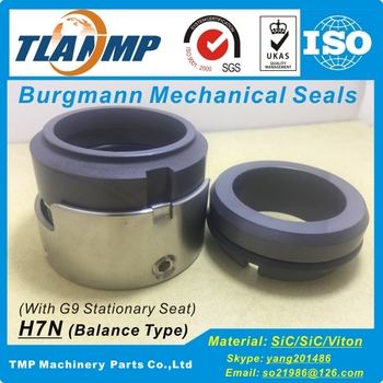 H7N-58 /G9 Burgmann Mechanical Seals |H7N Series balanced Seals with O-ring for Pumps (Shaft Size:58/63mm)