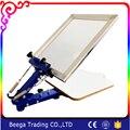 El Precio de fábrica + Buena Calidad DJ-ZMD 450*550mm Máquina De Impresión/Impresora Manual de La plantilla Máquina/Serigrafía Máquina de impresión