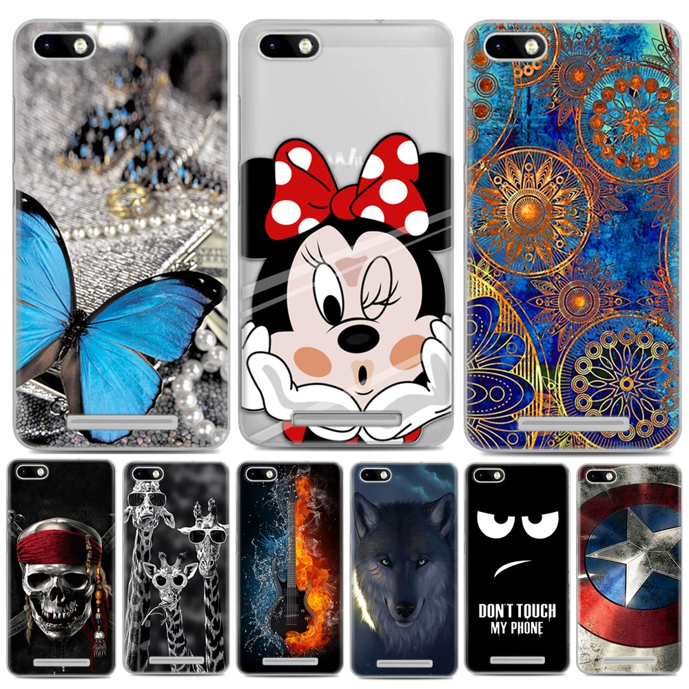 For Coque Wiko Lenny 3 Case Luxury Cartoon TPU Case Cover For Wiko Lenny 3 Soft Silicone Phone Protective Back Cover Skin