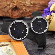 Высокое качество модные пару часов Повседневное кварцевые Для женщин Для мужчин Водонепроницаемый часы минимализм подарок любовника часы Мальчики Девочки наручные часы