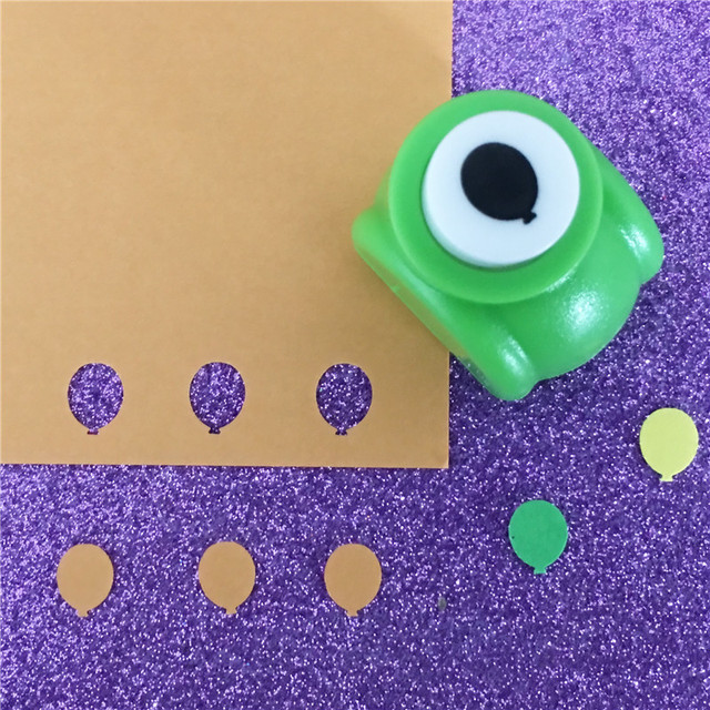 3 8 Inch Small Balloon Shaped Craft Punch Diy Hole Puncher Kids