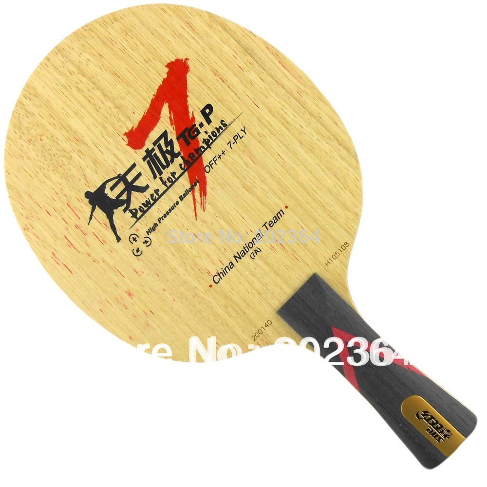 DHS TG7-P (TG.P 7, TG P-7) 7-Plywood, Loop+Attack, OFF++ Table Tennis Blade for PingPong Racket galaxy milky way yinhe v 15 venus 15 off table tennis blade for pingpong racket