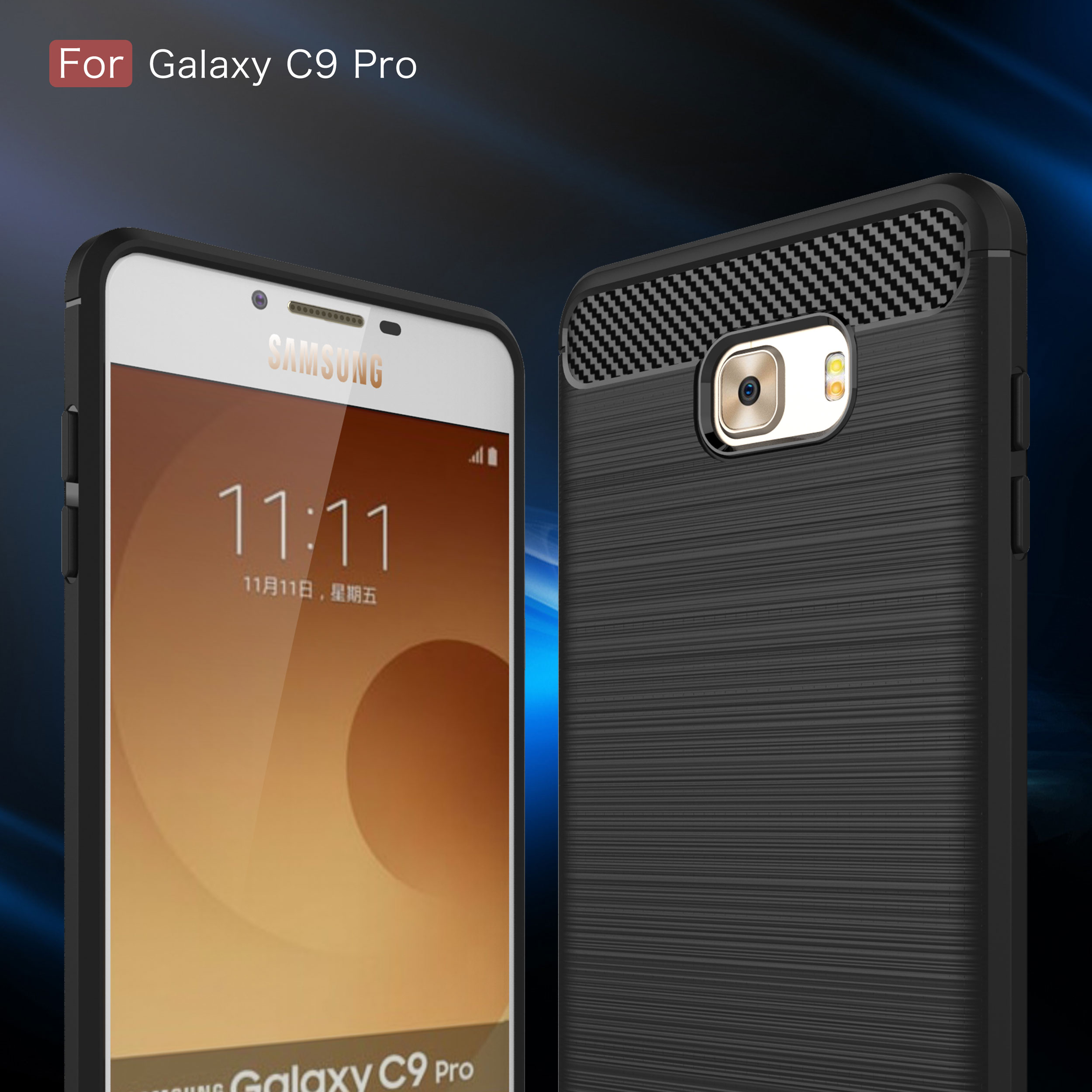 Aliexpress Buy Case For Samsung Galaxy C9 Pro Cover Half surrounded Case For Galaxy C 9 Pro SM C900Y DS C900F DS C9000 C9008 Cover Phone Shell from