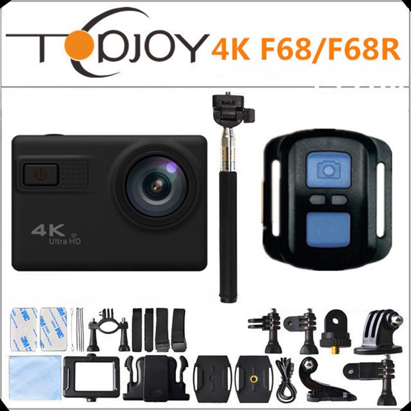 F68 F68R Novatek 96660 4K 24FPS 20MP Voice Alert Night Shot WIFI Sport Camera Remote Control