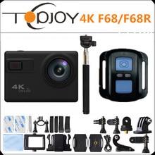 F68/F68R Новатэк 96660 4 К 24FPS 20MP Голос Оповещения Ночная Съемка WI-FI спорт Камеры Дистанционного Управления Мини-Камеры Go pro Стиль Действий Камеры