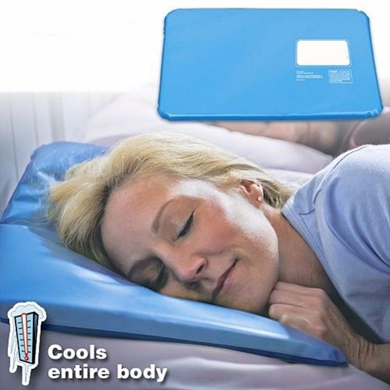 Летняя терапевтическая вставка, коврик для поддержки сна, подушка для облегчения мышц, охлаждающая гелевая Подушка, массажер для льда, водяные подушки