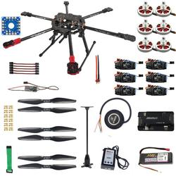 F07803-B RC Hexacopter Drone 6-axle Aircraft Kit FY690S Frame 750KV Motor GPS APM 2.8 Flight Control No Battery NOTransmit