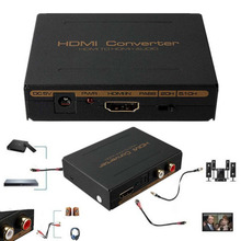 Buy 2017 New 1080P HDMI to HDMI Optical SPDIF + RCA L/R Extractor Converter Audio Splitter LED indication DC 5V Power US Plug