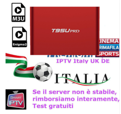 With 1 Year T95Up OTT IPTV2G/16G Amlogic s912 Italy IPTV EPG 4000+Live+VOD configured Europe Albania ex-yu XXX channels BOX a95x pro voice control with 1 year italy iptv box 2g 16g italy iptv epg 4000 live vod configured europe albania ex yu xxx
