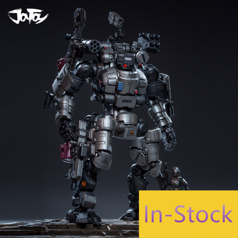 JOY TOY 1 25 figure robot Military ABS Robot HZ0026 RAGO and ShenTuChi soldiers 2pcs lot